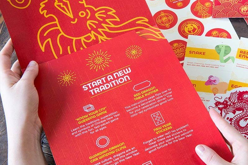panda express chinese new years celebration kit - Panda Express Chinese New Year