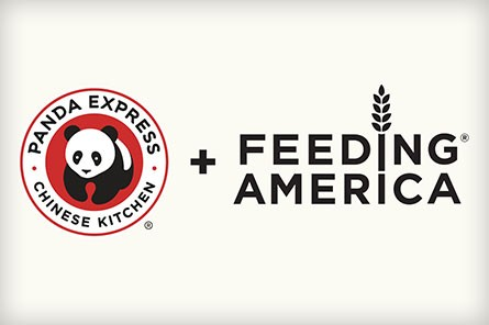 Panda Express and Feeding America logos